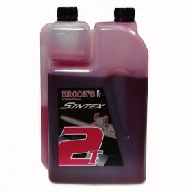 Bidon d'huile pour mélange moteur 2 temps 1l