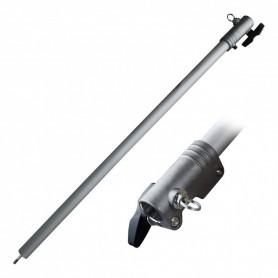 Rallonge pour débroussailleuses multifonction, peigne vibreur et tronçonneuses à perche, 90 cm avec support latéral