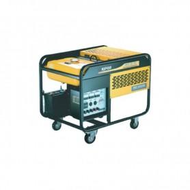 Générateur essence triphasé avec système AVR-KIPOR 8,4KW KGE12E3