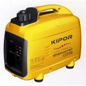 Générateur essence digital INVERTER KIPOR 0.72KW IG770