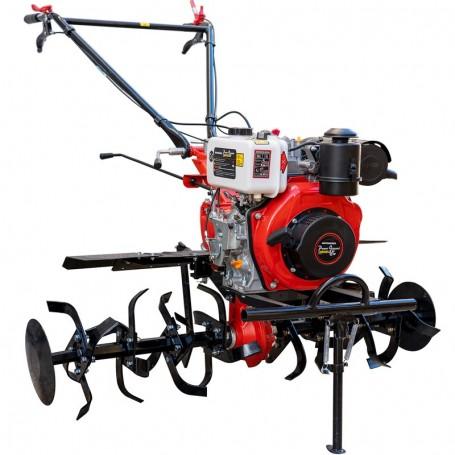 Motobineuse Powerground Diésel 2.0 269 cc 7 cv 80-130 cm