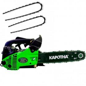 Tronçonneuse élagueuse Profesionelle Kapotha Ultimate 25 cc, 1.3 CV inclus 3 chaînes OREGON