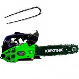 Tronçonneuse élagueuse Profesionelle Kapotha Ultimate 25 cc, 1.3 CV inclus 2 chaînes OREGON