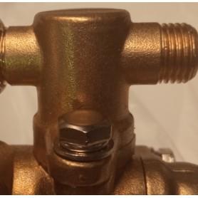 Sortie de pompe en laiton pulvérisateur  de liquide