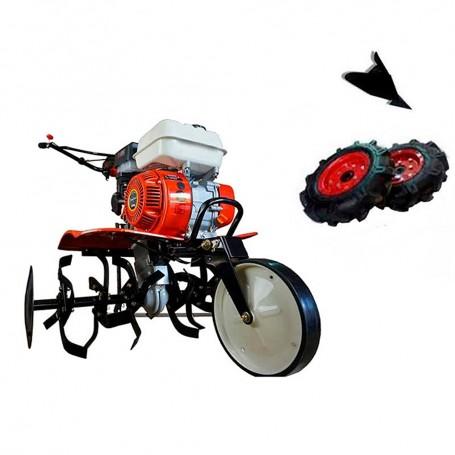 Motobineuse thermique Powerground 700 OHV, 208 cc, 7 hp, 90 cm + Kit agricole