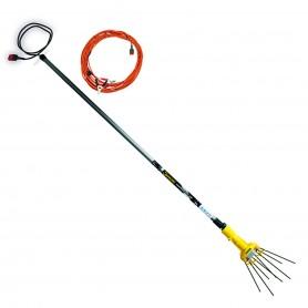 Peigne vibreur télescopique 12v Garland Shaker 400FW pour la cueillette d'olives