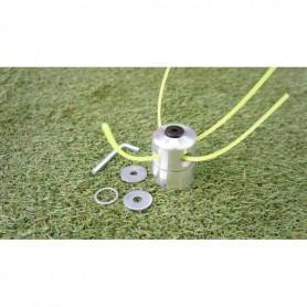 Tête de coupe à fil métallique universel pour tout débroussailleuse