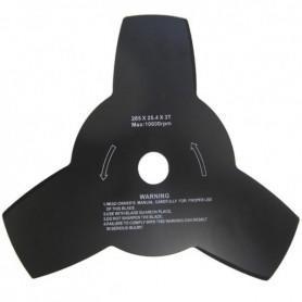 Disque universel avec trou 25,4mm et 3 dents pour débrousailleuse
