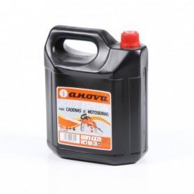 Bouteille d'huile pour chaîne de tronçonneuse, 5l.
