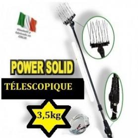 peigne vibreur professionnel télescopique POWERSOLID 12V 500W