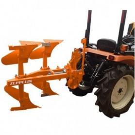 charrue réversible de 2 sillonneurs pour tracteur