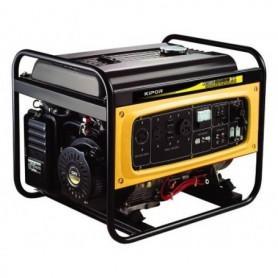 Générateur essence triphasé avec système  AVR-KIPOR 5,5KW KGE6500XE