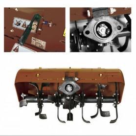 Pièce détachée rotavator arrière extensible 80cm pour tous les motoculteurs