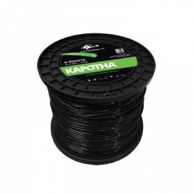 bobine de fil nylon KAPOTHA  de 72 mètres Ø2,7 mm