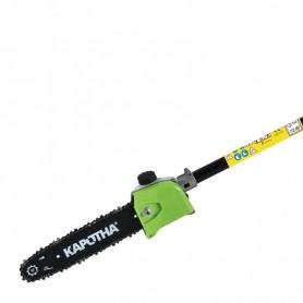 Élément pour élagueuse à perche kapotha adaptable sur débroussailleuse et multifonction