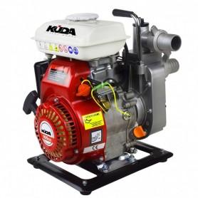 Motopompe thermique OHV  auto-amorçante KUDA 40 débit 27000 litres / heure 2.5 CV. 13,9 kg.